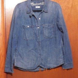 Madewell size small denim shirt